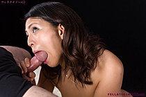 Kagawa Misato Sucking Cock Nude And Taking Cum In Mouth