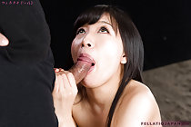 Sucking head of cock performing oral sex