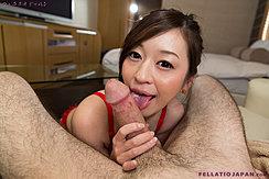 Holding Big Cock Licking Shaft