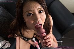 Licking Head Of Hard Cock Masturbating With Magic Wand