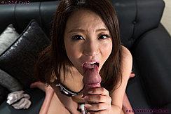 Giving Oral Sex While Masturbating