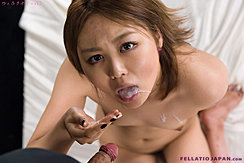 Cum In Her Mouth Cum Dripping Down Over Her Breasts