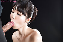 Matsuda Anna Kneeling Nude Sucking Cock And Taking Facial