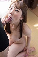 Kneeling Nude Looking Up Sucking Cock Long Hair Falling Over Her Big Breasts