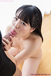 Shirayuki Yuka Performing Oral Sex