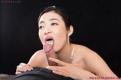 Enami Ryu Licking Cock Head