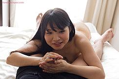 Handling Spent Cock Cum Over Her Hands
