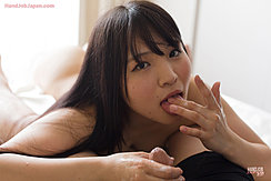 Iori Sana Licking Cum From Her Fingers