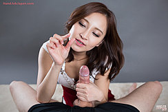 Hand Wrapped Around Erect Cock