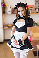 French Maid In Uniform