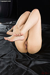 Naked With Legs Raised Cum Across Her Bare Feet