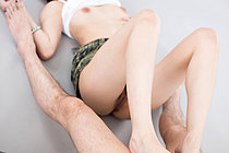 Yurikawa Sara Giving Footjob Taking Cum Over Her Bare Feet