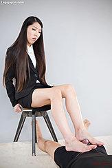 Cum Over Her Bare Feet Long Hair