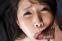Sakaida Minami face fucked naked while tied up with rope