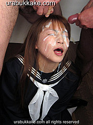 Two Men Cumming Over Kogals Face